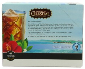 Green Mountain Black Tea Unsweetened Perfect Iced Tea, K-Cup Portion Pack for Keurig K-Cup Brewers