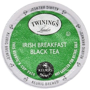 Twinings Irish Breakfast Tea K-Cups, 48 Count
