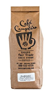 Cafe Campesino Certified USDA Organic Decaffeinated Fair Trade Green Coffee Beans, 2 Pounds