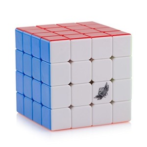 D-FantiX Cyclone Boys Speed Cube 4x4 Stickerless Enhanced Version Smooth Magic Cube Puzzles (60mm)
