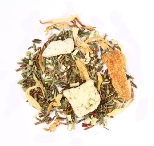 Adagio Teas Green Rooibos Key West Loose Herbal Tea, 3 oz.