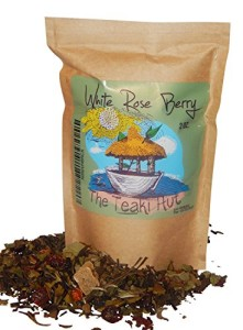 White Rose Berry Tea: Invigorating Acai Tea from TEAKI Hut, Three-Time Award Winners for Organic Loose Leaf White Tea