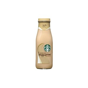 Starbucks Frappuccino Coffee Drink, Vanilla (13.7 oz. bottles, 12 ct.)