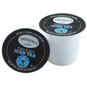 Twinings Pure Black Iced Tea Keurig K-Cups, 12 Count(Pack of 2)