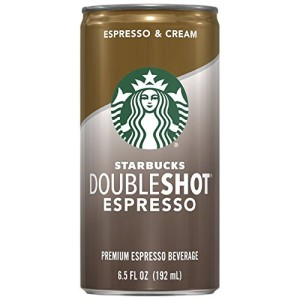 Starbucks Doubleshot Coffee, 6.5 Ounce Cans (Pack of 12)