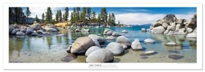 Award Winning Landscape Panoramic Art Print Poster: Lake Tahoe