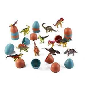 3D Dinosaur Puzzle in Jurassic Egg Educational Assembly Kit (Set of 12)