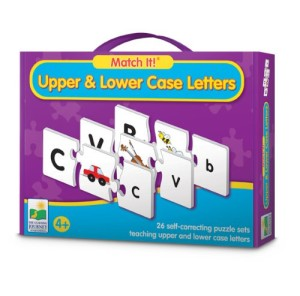 The Learning Journey Match It! Upper & Lower Case Letters