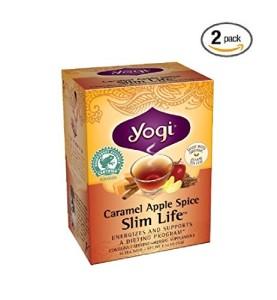 Yogi Caramel Apple Spice Slim Life Tea, 16 Tea Bags
