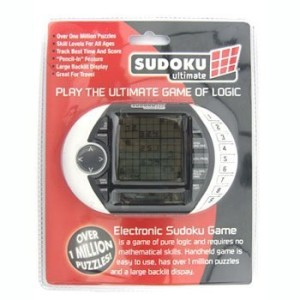 SUDOKU ULTIMATE ADVANCED PUZZLE GAME-ELECTRONIC