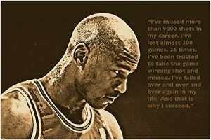 SUCCESS QUOTE photo poster MICHAEL JORDAN basketball great SPORTS FAN 24X36 - 2 TO 5 DAYS SHIPPING FROM USA