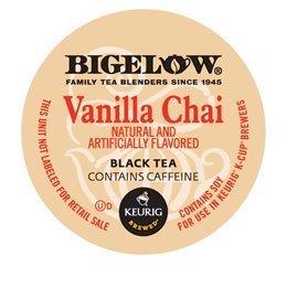 Bigelow Vanilla Chai Tea K-Cups for Keurig Brewers -24 Count