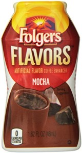 Folgers Flavors Coffee Enhancer Bottle, Mocha, 1.62 Fluid Ounce