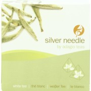 Adagio Teas Gourmet Tea Bags, Silver Needle, 15 Count