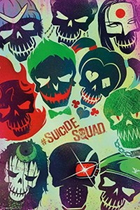 Suicide Squad Movie Art 24x36 Poster