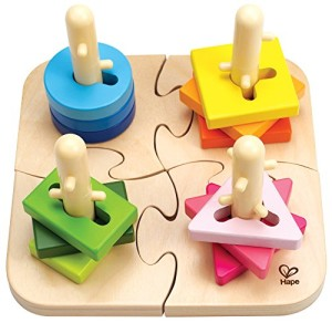 Hape - Early Explorers -Creative Wooden Peg Puzzle