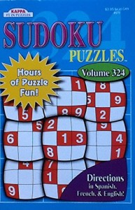 "Sudoku Puzzle Book Volume 324 ~ 8"" x 5"" ~ 76 Large Print Puzzles"