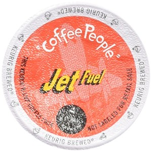 Coffee People Dark Roast, Jet Fuel, K-Cup for Keurig Brewers
