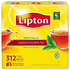 Lipton Black Tea Bags,