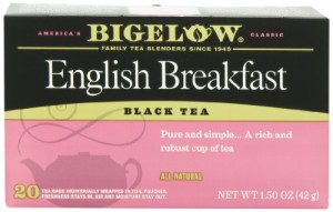 Bigelow English Breakfast Tea, 20-Count Boxes (Pack of 6)