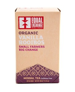 Equal Exchange Organic Vanilla Rooibos Tea, 1.41 ounce, 20-Count