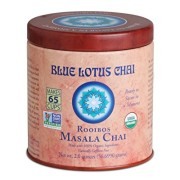 1 X Blue Lotus Rooibos Masala Chai - 2oz Tin (65 cups)