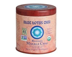1 X Blue Lotus Rooibos Masala Chai - 2oz Tin (65 cups)