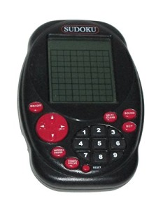 Sudoko handheld electronic game