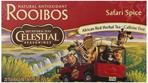 Celestial Seasonings Safari Spice Red Tea, 20 Count (Pack of 6)