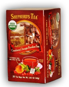 Organic Cranberry Orange Rooibos Bible Verse Tea
