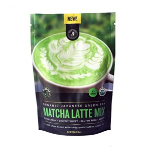 Jade Leaf - Organic Japanese Matcha Green Tea Latte Mix