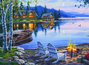 Buffalo Games Darrell Bush: Lake Reflection - 1000 Piece Jigsaw Puzzle by Buffalo Games