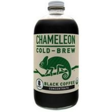 Chameleon Cold Brew Organic Black Coffee Concentrate, 32 Fluid Ounce -- 6 per case.