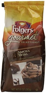 Folgers Gourmet Selections Coffee, Mocha Swirl, 10 Ounce