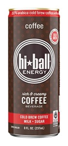 Hiball Energy Cold Brew Coffee Beverage, 12 Count