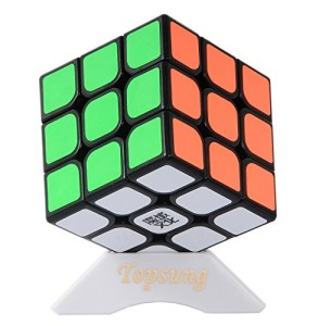 Topsung Moyu Aolong V2 3x3 Speed Cube Enhanced Edition Smooth Magic Cube Black