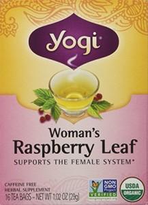 Yogi Tea Woman's Herbal Tea , Raspberry Leaf 16 bags