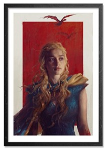 Game of Thrones - Daenerys Targaryen/ Khaleesi- #/261 Art Print by Artist Sam Spratt