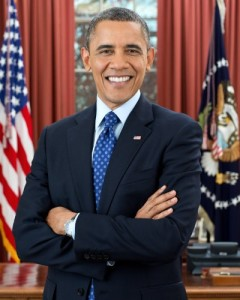 Barack Obama Official Portrait 2nd Term December 2012 Photo American Presidents Photos 8x10