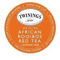 Twinings Pure Rooibos Red Tea K-Cups for Keurig Brewers (2 Boxes of 24)