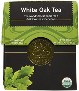 White Oak Bark Tea - Organic Herbs - 18 Bleach Free Tea Bags