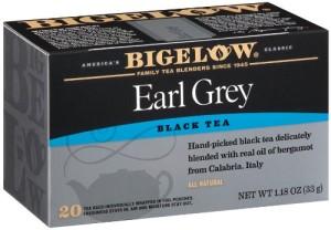 Bigelow Earl Grey Black Tea, 20-Count Boxes (Pack of 6)