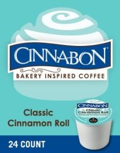 Cinnabon Classic Cinnamon Roll K-Cup Coffee