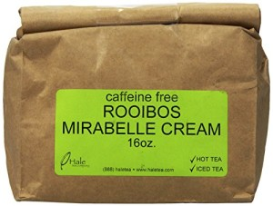 Hale Tea Rooibos, Mirabelle Cream, 16-Ounce