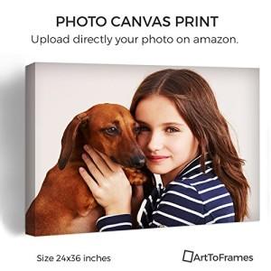 ArtToFrames Photo To Canvas Gallery Wrap 1.5 Inch - 24x36