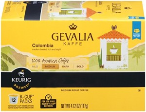 Gevalia Single-Cup Coffee for Keurig K-Cup Brewers