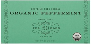 Harney & Sons Organic Peppermint Tea 80g / 2.85 oz (50 Tea Bags)