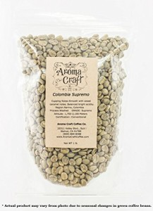 Colombian Narino Supremo Unroasted Green Coffee Beans Caturra WASHED
