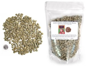 Sumatra Gayo Green Unroasted Coffee Beans