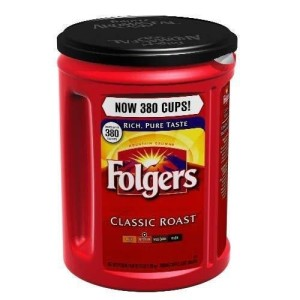 Folgers Classic Roast Ground Coffee - 48 oz (Pack of 2)